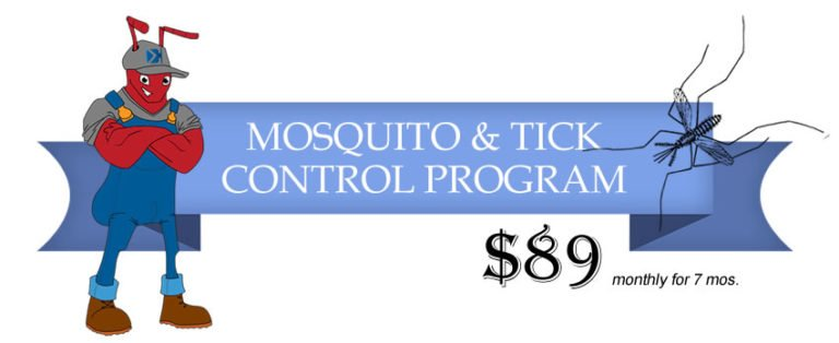 mosquito and tick control